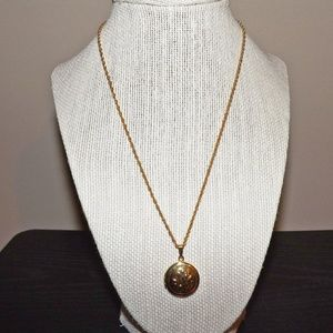 New Premier Designs Locket Necklace-Gold Tone-18""
